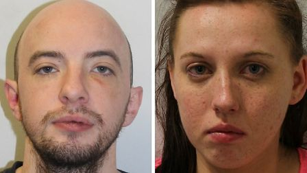 Kevin Kelly, 30, of Tottenham Lane, N8, and his girlfriend Hayley Read, 24, of Bracknell Close, N22,