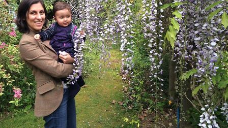 Nazanin Zaghari-Ratcliffe with daughter Gabriella, now three-years-old. Picture: RICHARD RATCLIFFE