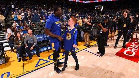 NBA UK invited 14-year-old Patrick Morrison from Hackney to Oakland, California, to meet his hero Dr