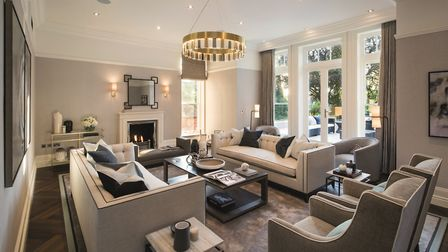 The property boasts 10,000 square feet of stunning living space