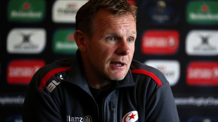 Saracens' director of rugby Mark McCall (pic Chris Radburn/PA)