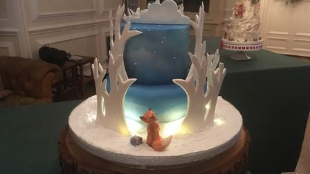 Mrs Luxford's winter showstopper. Picture: THERESA LUXFORD