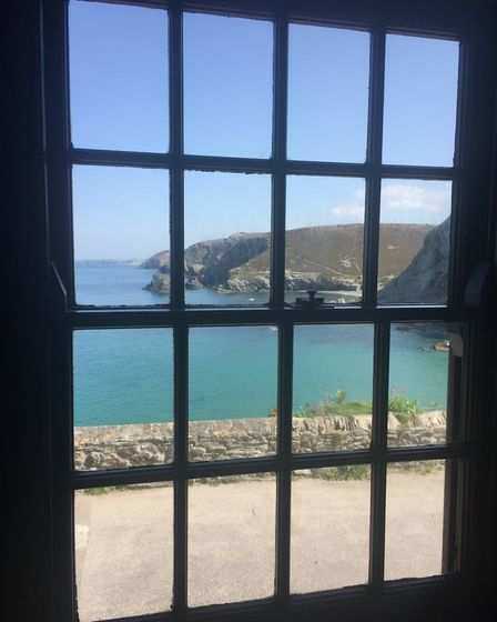 The view from Pier Cot. Picture: Emma Bartholomew