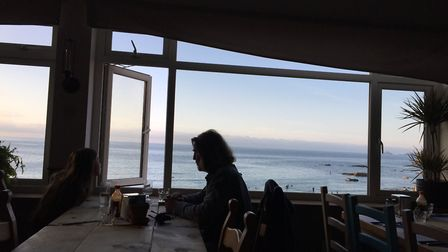 The view of the bay from Schooners. Picture: Emma Bartholomew