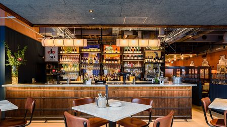 The interior of Camino Shoreditch, inspired by the Castile y Le�n region. Picture: Tom Bird