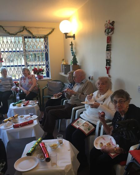 "The Christmas party at Sanctuary Housing's scheme in Tysson House was ""disappointing"""