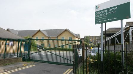 Haringey Council chiefs voted unanimously to close Osborne Grove Nursing Home in Stroud Green. Pictu