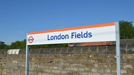 London Fields station, whose neighbours are at their wits' end over extremely regular platform annou