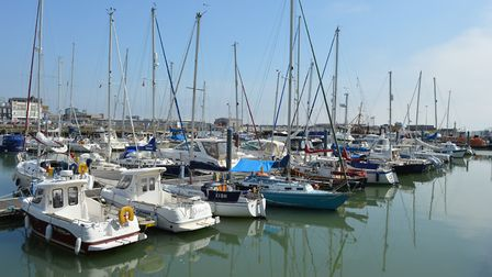 Lowestoft Marina had previously been plagued by a chronic dog fouling problem. Picture: Andrew Atter