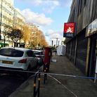 Cassland Road where the man collapsed and died. Picture: Emma Bartholomew