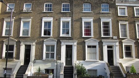 Laurence is offering the two-bedroom flat in King's Cross, which rents for around �2000-a-month, to