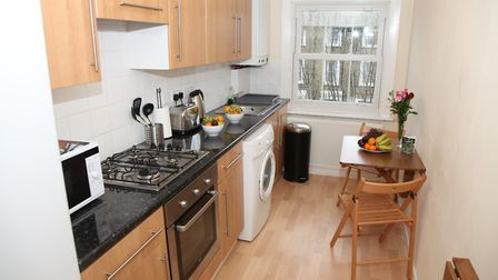 Laurence is offering his vacant King's Cross flat to a homeless singleton, couple or family free of