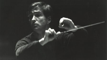 Conductor Guido Ajmone-Marsan. Picture: THE FRIENDS OF WATERLOW PARK