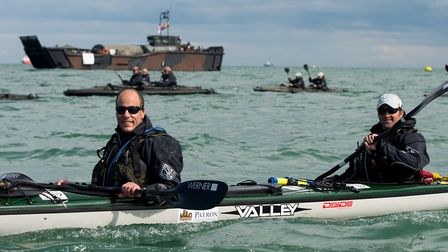 Keith Breslauer and disabled former Royal Marines will begin the challenge on December 7