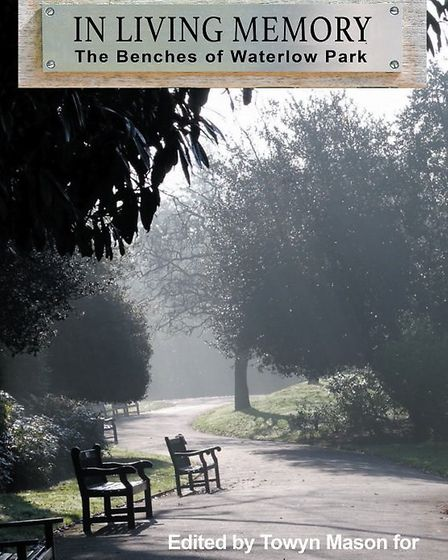 The front cover of In Living Memory: The Benches of Waterlow Park edited by Towyn Mason. Picture: RI