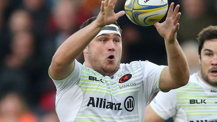 Jamie George of Saracens (pic: Paul Harding/PA)