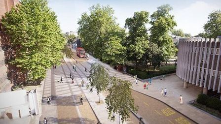 London Mayor Sadiq Khan has said the cycle superhighway CS11 will go ahead in spite of setbacks. Pi