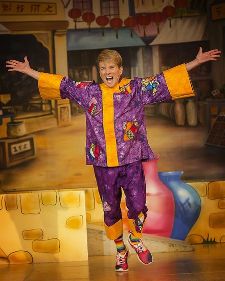Terry Gleed will take on the role of Smee in this year's production of Peter Pan.Terry, pictured, pr