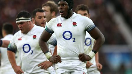 England's Maro Itoje during the Autumn Internationals at Twickenham Stadium (pic Paul Harding/PA)