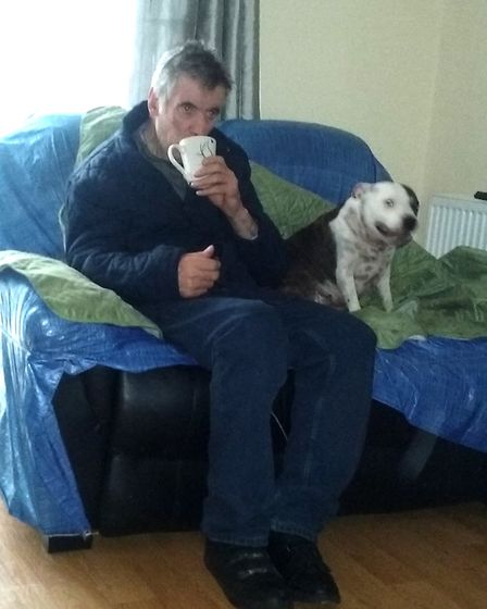 John Nolan, 70, was found on fire near to his flat in Tottenham after going for a walk. Picture: Sup