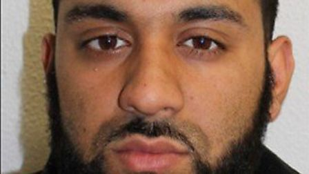 Jailed: Smash and grab raider Mohammed Hussain. Picture: Met Police