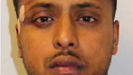 Jailed: Smash and grab raider Mohammed Ali. Picture: Met Police