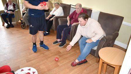 The competition is designed to increase sporting participation amongst older generations. Picture: G