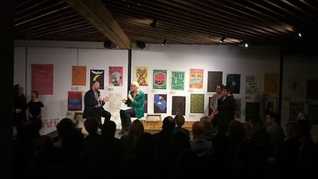 Clive Anderson's sold-out gig Monkey Toast Special in October 2015 at The Proud Archivis. Picture: C
