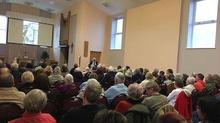 'Trawl Through Time' featured a presentation from Colin Dixon and Roy Hammond of the Lowestoft Marit