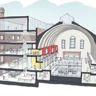 An artist's impression of how the building could look if developed by Castle Forge. Picture: Castle