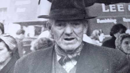 Larry Julian's grandfather James, who also worked on the market. Picture: Julian family
