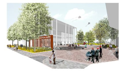 What the new Britannia leisure centre might look like. Picture: Hackney Council