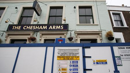 The Chesham Arms pictured in 2014. The Homerton pub was saved following a campaign by locals, CAMRA