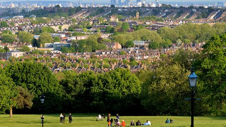 The view from Ally Pally