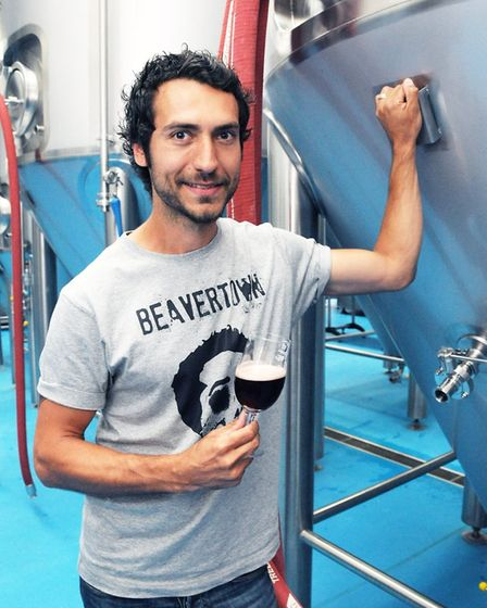 Beavertown Brewery owner Logan Plant. Picture: Dieter Perry
