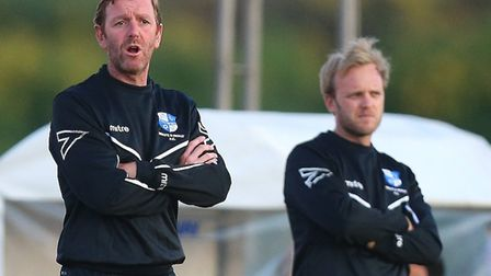 Wingate & Finchley manager Keith Rowland (pic: Gavin Ellis/TGS Photo).