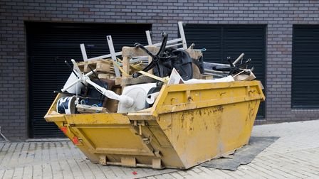 You may need to hire a skip