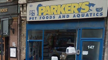 Parker's Pets in Stoke Newington High Street. Picture: Google Street View