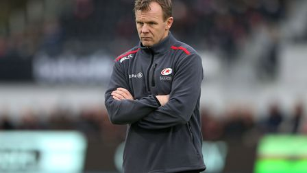 Saracens director of rugby Mark McCall at Allianz Park (pic Paul Harding/PA)