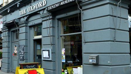 The Oxford is at risk of closure following its sale by pub chain Greene King. Picture: ARCHANT