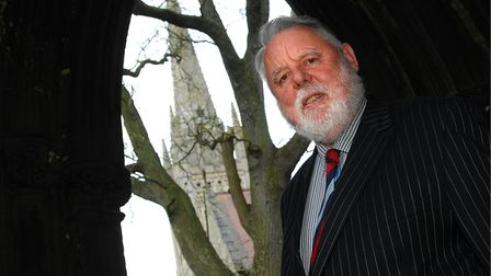 Terry Waite will be joining the Reniassance chamber choir for a Spring concert. PHOTO: ANTONY KELLY