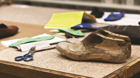Special Footwear create wooden lasts like these to replicate your feet exactly, before custom-made s