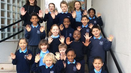 Our Lady of Muswell Hill Primary School is on the up after receiving an upgrade in its Ofsted rating