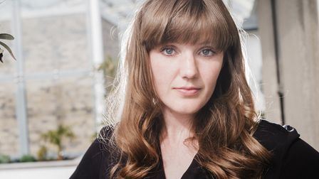 """Emma Glass whose first novel """"Peach"""" is published by Bloomsbury.Picture: Sarah M Lee"""