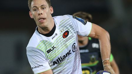 Saracens back Liam Williams has been called up to the Wales squad for the upcoming Six Nations (pic: