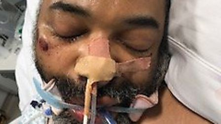 Police in Camden are appealing for information to help them identify a man found collapsed outside U