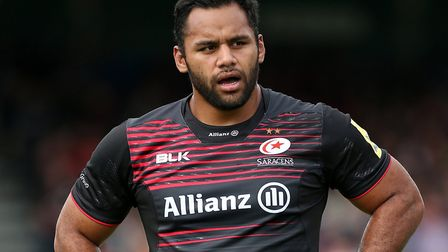 Billy Vunipola of Saracens has fractured his arm and faces another spell on the sidelines (pic: Mark