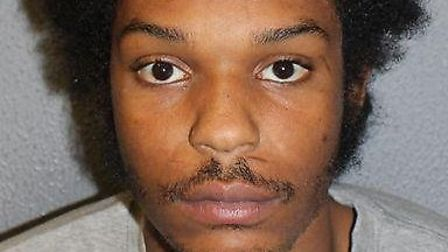 Cavell Hutson, who snatched mobile phones from pedestrians as he sped past on a moped before being c