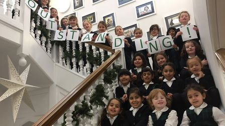 St Anthony's School for Girls has been awarded an 'outstanding' Ofsted grading. Photo by St Anthony'