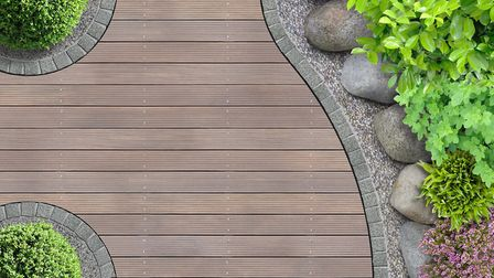 Decking will be making a return to gardens after falling out of favour in recent years